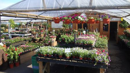 Bourne Garden Centre is located on the Wherstead Road Picture: CONTRIBUTED