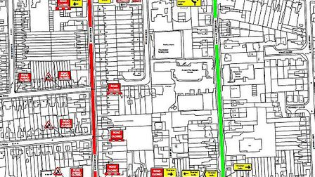Nelson Road, Ipswich will be closed on 5 December between 9.30am and 3.30pm, to carry out carriagewa