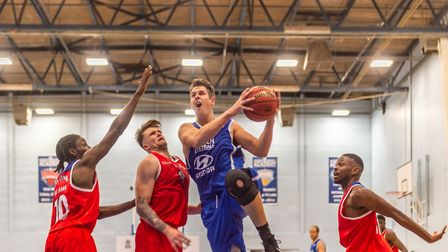 Ipswich captain Colin Dockrell scored 17 points at Westminster. Picture: PAVEL KRICKA