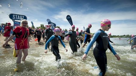 All ages from eight upwards are welcome to take part in the Great East Swim. Picture: GREAT SWIM SER
