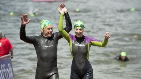 Participants in last year's Great East Swim Picture: GREAT SWIM SERIES