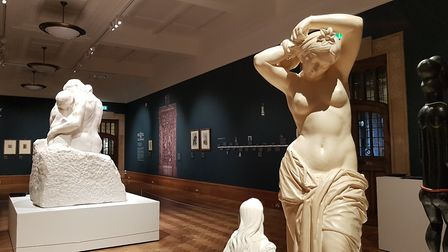 The iconic artwork is on loan from the Tate Museum. Picture: RACHEL EDGE