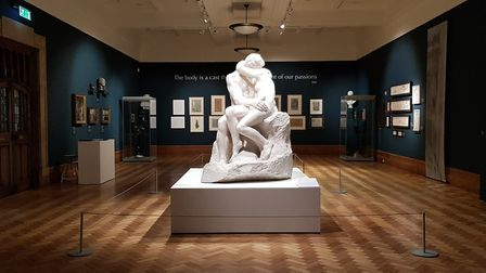 Kiss & Tell: Rodin and Suffolk Sculpture exhibition at Christchurch Mansion. Picture: RACHEL EDGE