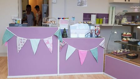 Pictures of the inside of Vinny's Cake and Craft shop Picture: