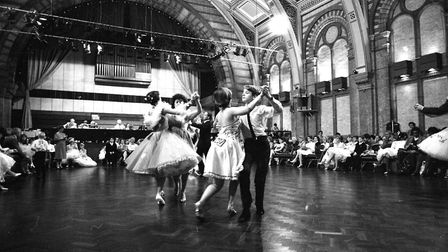 The Corn Exchange hosted a ballroom dancing festival for all ages to get involved with Picture: RIC