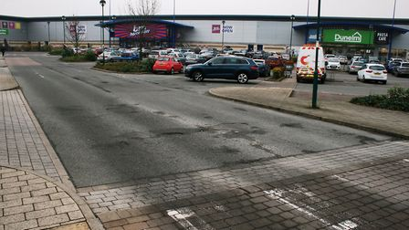 Ipswich Borough Assets plans to improve the parking facilities at the Anglia Retail Park. Picture; PAUL GEATER