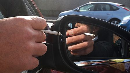 Motorists can be fined for dropping cigarette butts on the street Picture: ANDY ABBOTT