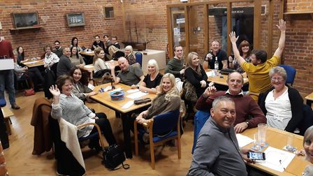 The Port of Ipswich's charity quiz added £1,000 to the St Elizabeth Hospice fundraising pot Picture: