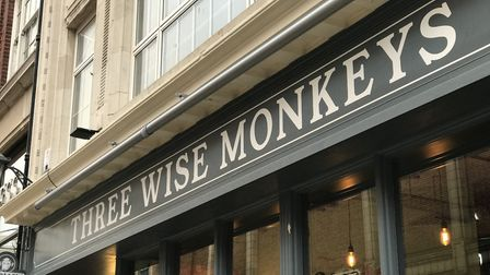 Three Wise Monkeys tap house in Ipswich opened its doors in November. Picture: NEIL PERRY