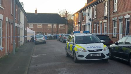 The scene in Turin Street on Monday morning Picture: ARCHANT