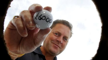 Businessman Darren Webb organised the FBE East of England golf day, at Stowmarket Golf Club, which r