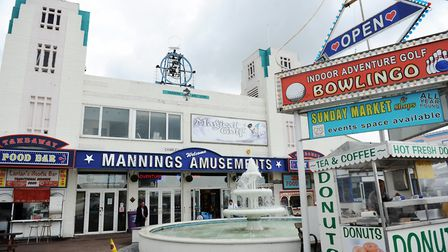 Mannings Amusments in Felixstowe. Picture: ARCHANT
