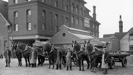 Harold Hindle of Heatherhayes, Ipswich, sent his wonderful photograph taken at the Cobbold Brewery a