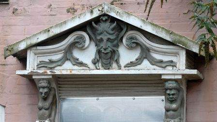The door surround at Cliff House. Picture: DAVID KINDRED