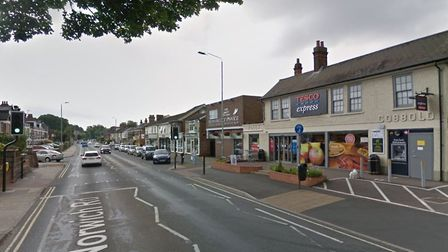 There has been a serious incident in Norwich Road with police and paramedics at the scene Picture: G