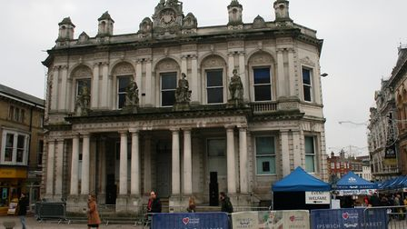 Ipswich council will be carrying out maintenance on the Old Post Office before looking for a new ten