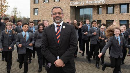 Head teacher of Chantry Academy Craig D'Cunha is thrilled with their 'good' Ofsted report Picture: