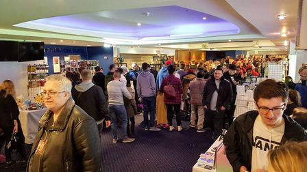 Comic con attracts hundreds of people Picture: UNLEASHED EVENTS