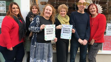 Independent traders in The Saints are preparing for Sunday's Festive Street Market. Some of the tra