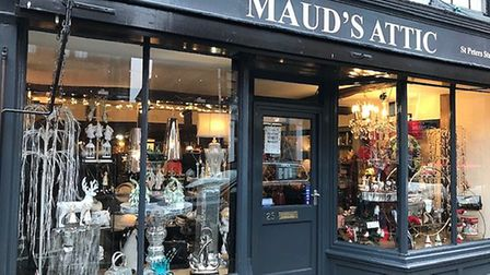 Maud's Attic, St Peter's Street, Ipswich Picture: CATHY FROST