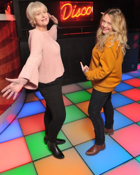 Jane Spencer-Rolfe and Ronni-Louise Hetherington have set up a women only club night called 'Let's B