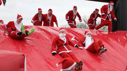 The Inflatable 5k Santa Run in Ipswich has been postponed Picture: ARCHANT