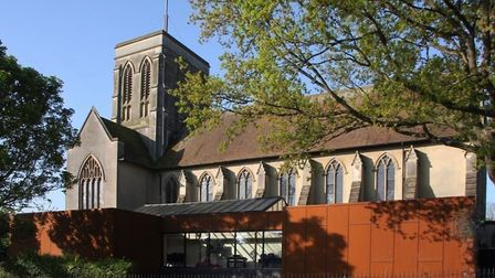 The new Lantern extension at St Augustine's Church in Ipswich. Picture: TONY MARSDEN/Ipswich Society