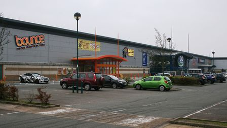 Anglia Retail Park off Bury Road has had a new lease of life since B&Q departed. Picture: PAUL GEATE