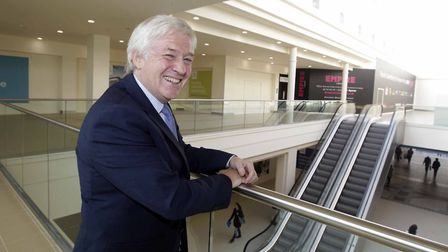 Ken Ford, who masterminded the redevelopment of the Buttermarket Centre, is hoping to bring new life