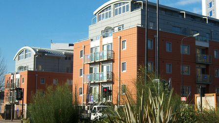 The Ipaxis building in Wolsey Street, Ipswich Picture: ARCHANT