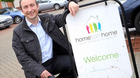 Home from Home director Edward Ottley Picture: ARCHANT