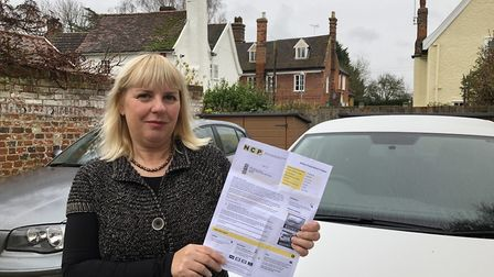 Alison Harrald was in the car park for 15 minutes trying to pay before moving onto a different car p