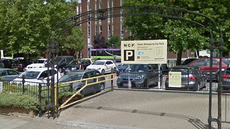 The car park is close to the new council car park on Crown Street Picture: GOOGLE MAPS