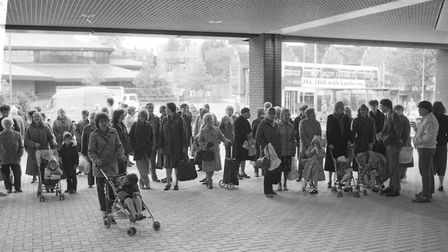 Tower Ramparts Shopping Centre opening in 1986