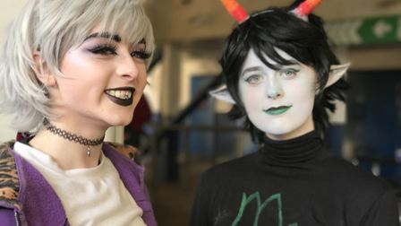 Comic fans attend Unleashed in Ipswich. Picture: Victoria Pertusa