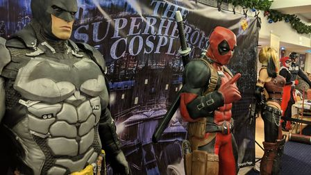 Ipswich Unleashed brought comic con to Portman Road Picture: SAM EMMENS