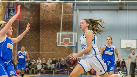 Danni Cazey scored 16 points for Ipswich. Picture: PAVEL KRICKA