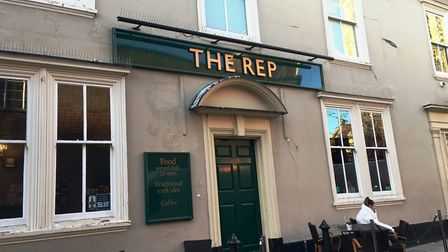 The Rep pub in Tower Street Picture: SUZANNE DAY