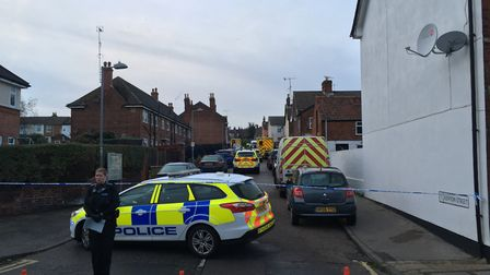 Kenyon Street was also closed while Emergency services attended the scene.