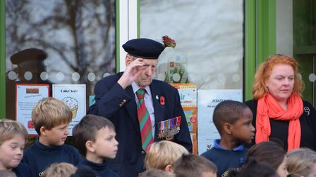 Both Mr Booth and Mr Goldstien also served in The Falklands and Northern Ireland. Picture: SARAH KIR