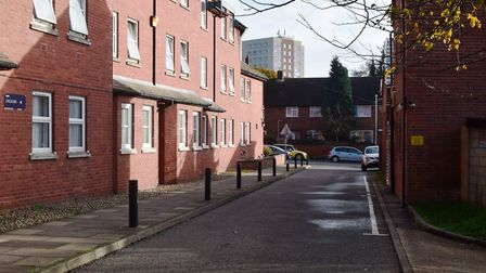Providence Lane in Ipswich. Picture: ANDREW PAPWORTH
