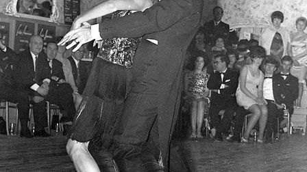A competition at the Arlington Ballroom, Ipswich, in January 1968. Picture: IAN MCGRATH