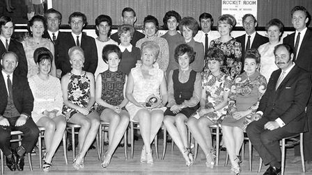 Do you know anybody in the photograph taken at the Arlington Ballroom, Ipswich, in November 1971? Ol