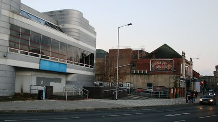 Majors Corner - one of the first areas to be redeveloped as part of the Public Realm Strategy. Pictu