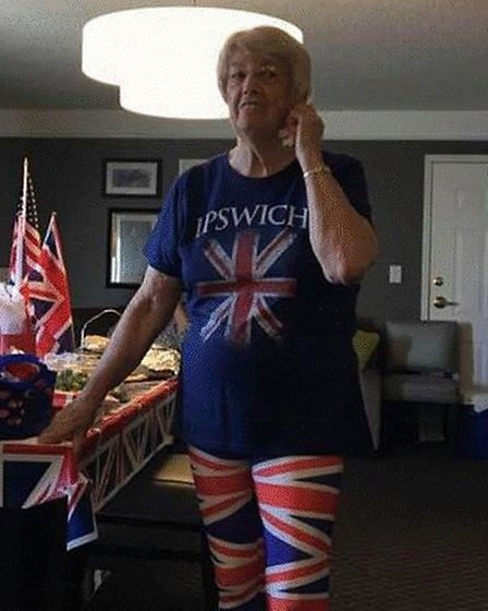 Stella Seiler in her Ipswich outfit. Picture: LYNNE DOUGHTY