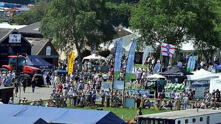 Last year's Suffolk Show attracted thousands of visitors Picture: SUFFOLK AGRICULTURAL ASSOCIATION