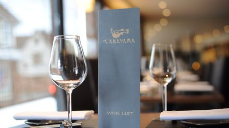 Authentic Japanese restaurant Takayama on Fore Street in Ipswich is in the top spot. Picture: SARAH
