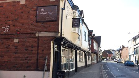 92 Noodle Bar on Fore Street is in second place. Picture: ARLEN JAMES