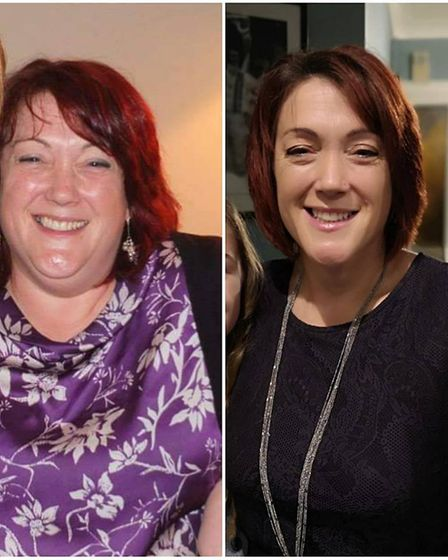 Alison Gardiner lost 8.5 stone before becoming a Slimming World consultant. Picture: ALISON GARDINER