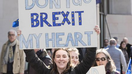 Stop Brexit, National march to Parliament. London, UK. 25/03/2017 | usage worldwide
